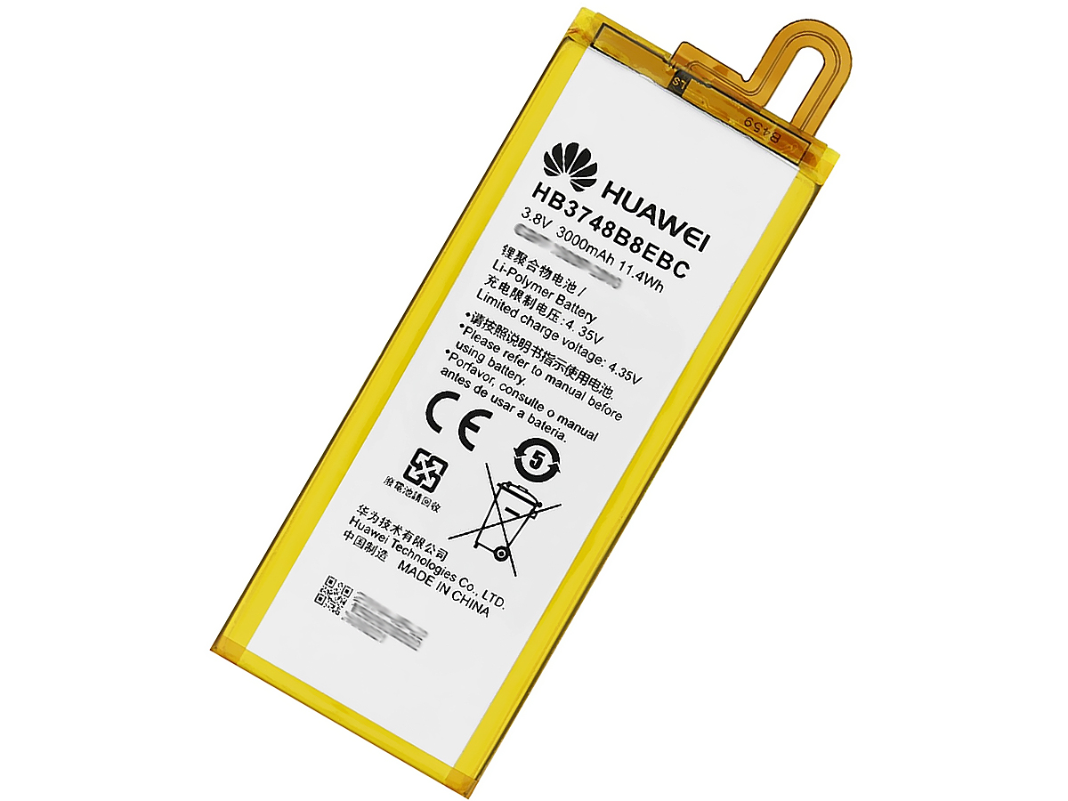 BATTERIA ORIGINALE HUAWEI ASCEND G7 HB3748B8EBC 3000mAh 11.4Wh LITIO
