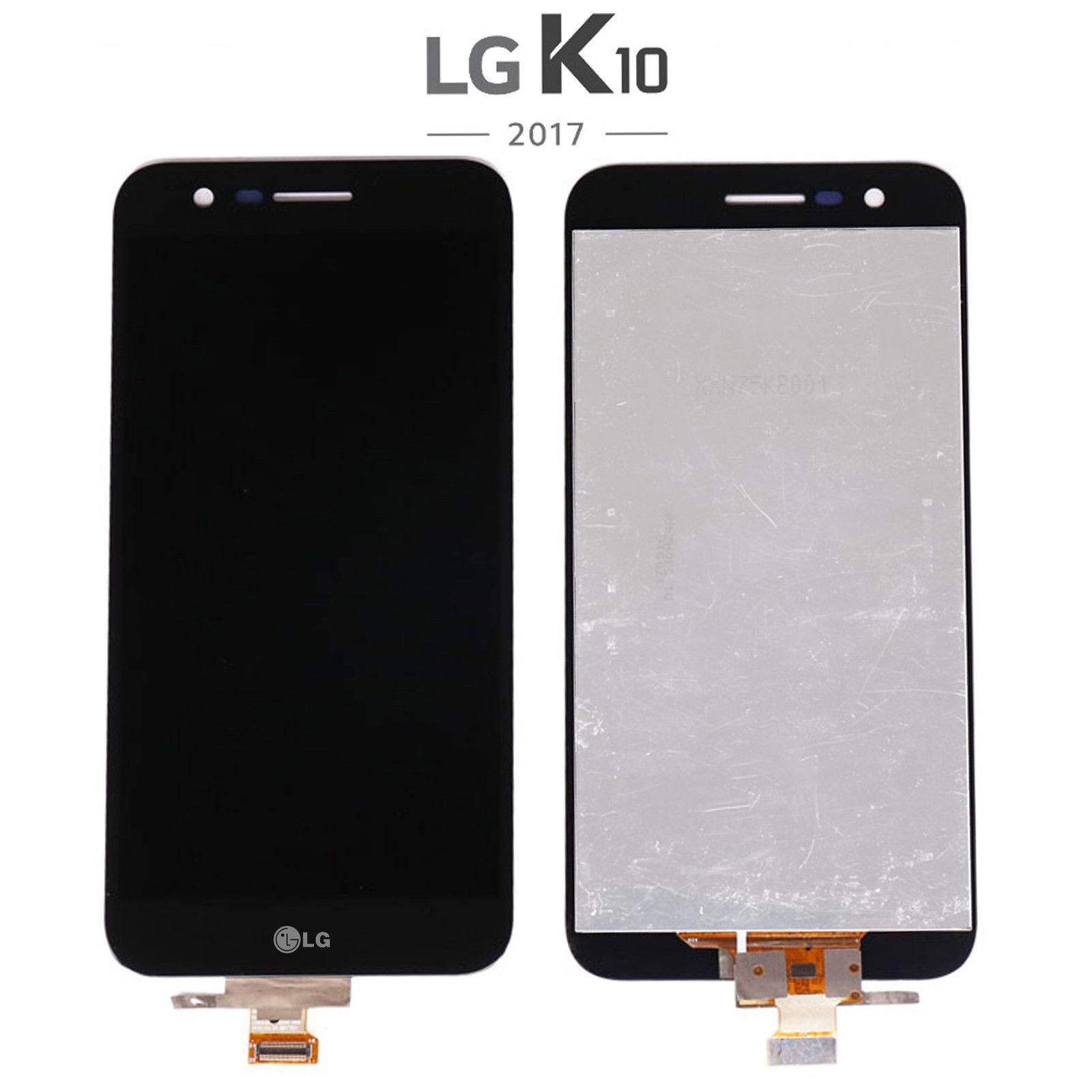 DISPLAY LCD E TOUCH SCREEN LG K10 2017 M250 M250N NERO BLACK
