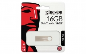 PEN DRIVE 16 GB SE9H ALLUMINIO KINGSTON DTSE9H/16GB SLIM USB 2.0